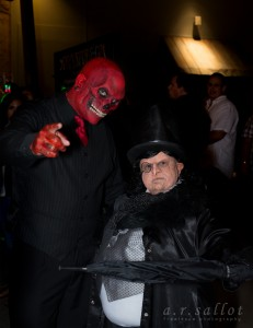 Red Skull and Penguin