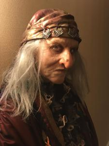 Silicone Once Upon a Time Hag recreation.